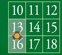 13 - 16