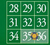 35 - 36