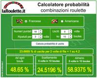 Calcolatore probabilità